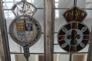 Some stained glass roundels