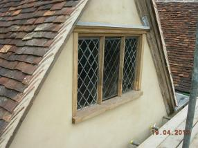 An east front window